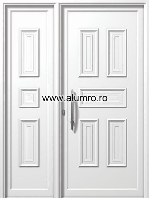 Usa din aluminiu pentru exterior - E810-E812 ALUMINCO - Poza 143