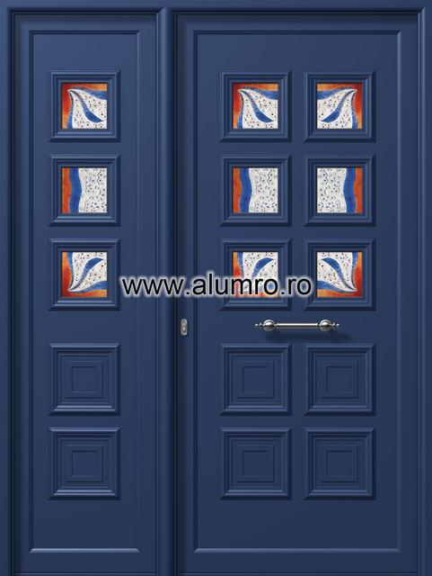 Usa din aluminiu pentru exterior - E826 fused 2 ALUMINCO - Poza 145