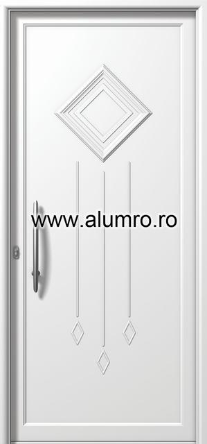 Usa din aluminiu pentru exterior - E845 ALUMINCO - Poza 146