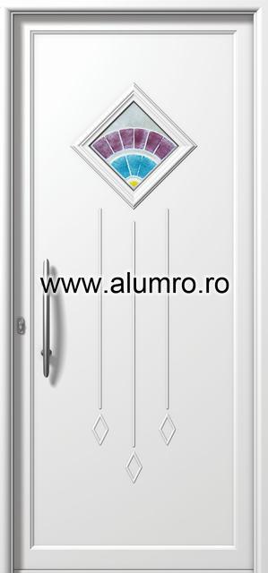 Usa din aluminiu pentru exterior - E846 fused 2 ALUMINCO - Poza 149