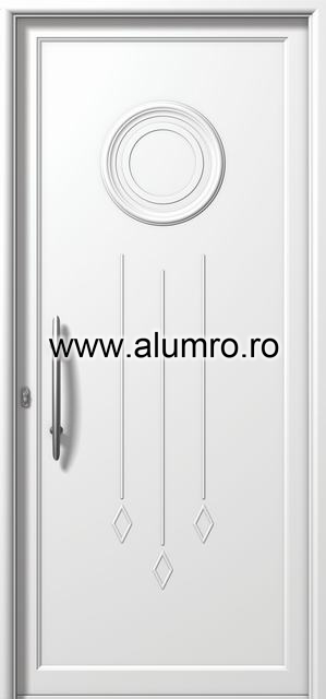Usa din aluminiu pentru exterior - E847 ALUMINCO - Poza 151