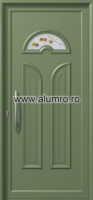 Usa din aluminiu pentru exterior - E851 fused 9 ALUMINCO - Poza 155