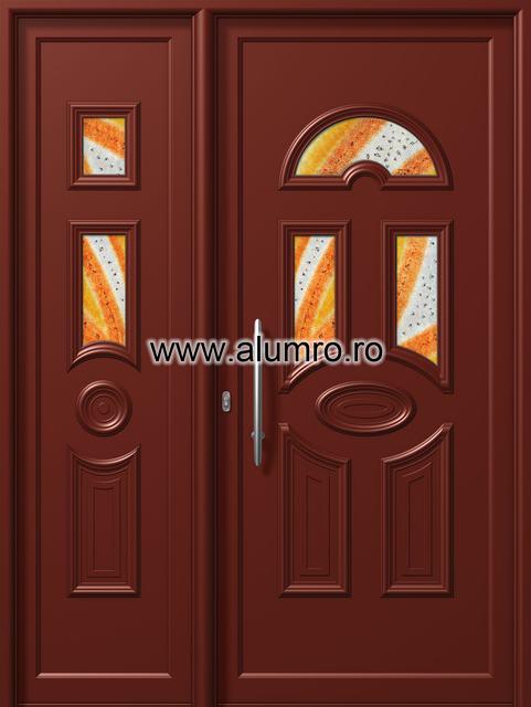 Usa din aluminiu pentru exterior - E858-E558 fused 2 ALUMINCO - Poza 159