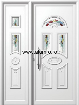 Usa din aluminiu pentru exterior - E858-E558 vitro 3 ALUMINCO - Poza 161