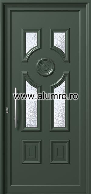 Usa din aluminiu pentru exterior - E864 ALUMINCO - Poza 163