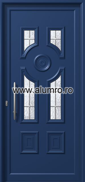 Usa din aluminiu pentru exterior - E864 kaiti inox ALUMINCO - Poza 164