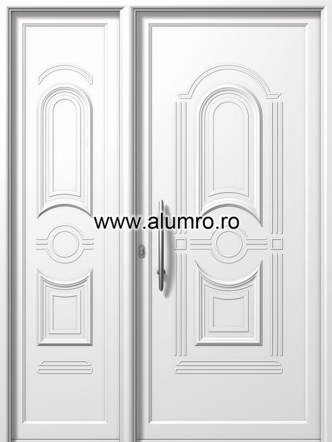 Usa din aluminiu pentru exterior - E865-E873 ALUMINCO - Poza 165