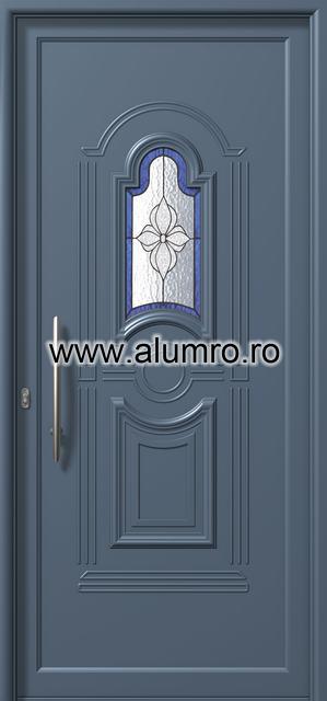 Usa din aluminiu pentru exterior - E871 deco 1 ALUMINCO - Poza 168