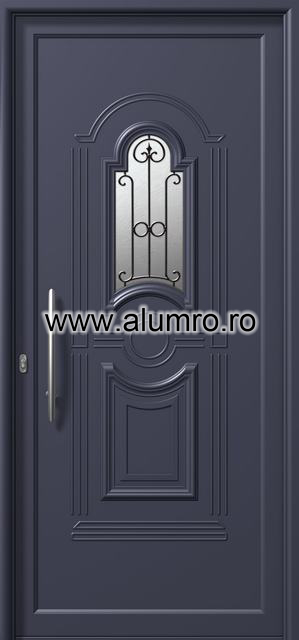 Usa din aluminiu pentru exterior - E871 safe 1 ALUMINCO - Poza 171