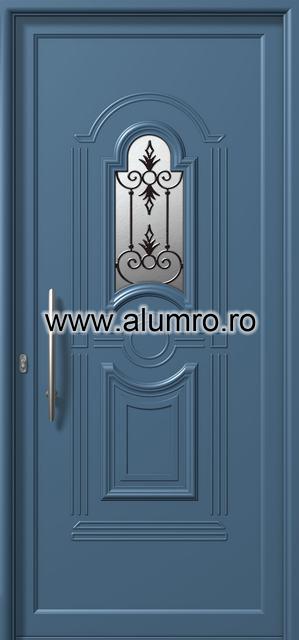 Usa din aluminiu pentru exterior - E871 safe 2 ALUMINCO - Poza 172