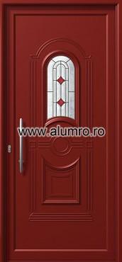 Usa din aluminiu pentru exterior - E874 deco 1 ALUMINCO - Poza 174