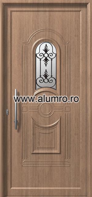 Usa din aluminiu pentru exterior - E874 safe 2 ALUMINCO - Poza 175