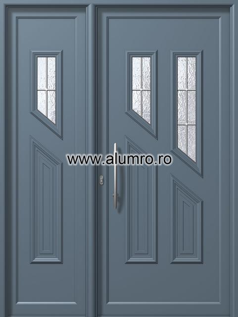Usa din aluminiu pentru exterior - E893-E896 kaiti inox ALUMINCO - Poza 184