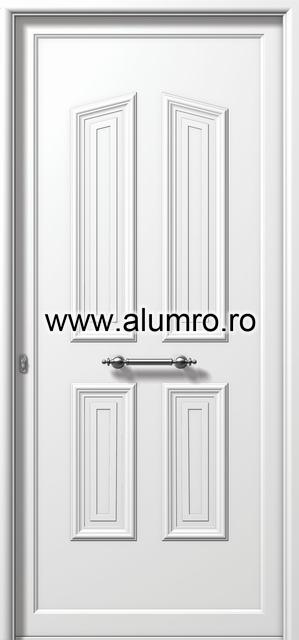 Usa din aluminiu pentru exterior - E897 ALUMINCO - Poza 186