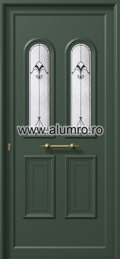 Usa din aluminiu pentru exterior - E900 deco 1 ALUMINCO - Poza 189