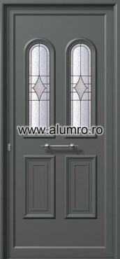 Usa din aluminiu pentru exterior - E900 deco 2 ALUMINCO - Poza 190