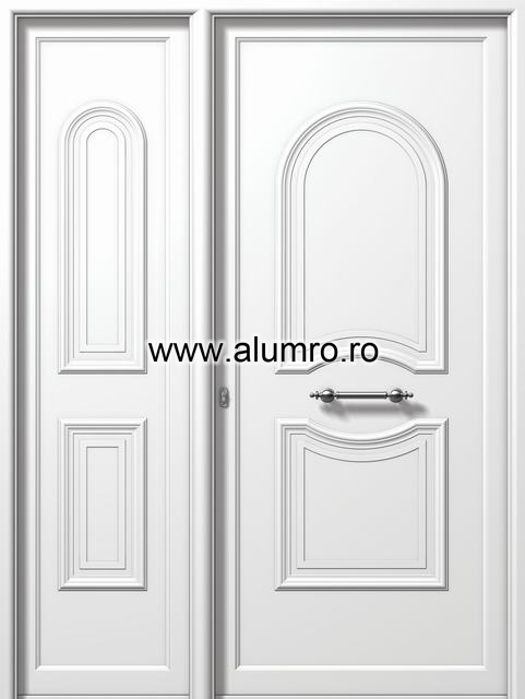 Usa din aluminiu pentru exterior - E903-E910 ALUMINCO - Poza 195