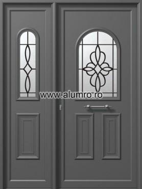 Usa din aluminiu pentru exterior - E905-E518 safe ALUMINCO - Poza 199