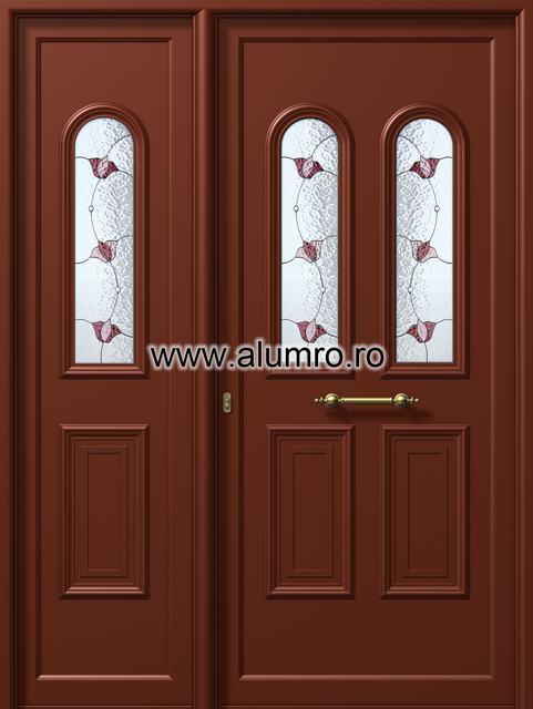 Usa din aluminiu pentru exterior - E905-E900 vitro 3 ALUMINCO - Poza 206