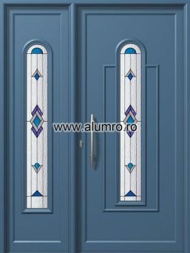 Usa din aluminiu pentru exterior - E908-E553 deco 1 ALUMINCO - Poza 208