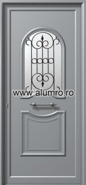 Usa din aluminiu pentru exterior - E911 safe 2 ALUMINCO - Poza 211