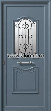 Usa din aluminiu pentru exterior - E928 safe 2 ALUMINCO - Poza 215