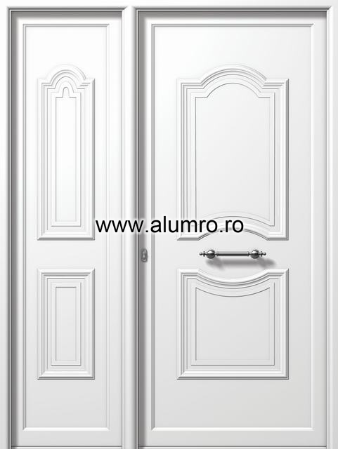 Usa din aluminiu pentru exterior - E933-E926 ALUMINCO - Poza 216