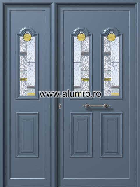 Usa din aluminiu pentru exterior - E934-E943 vitro 1 ALUMINCO - Poza 224