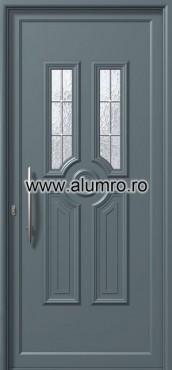 Usa din aluminiu pentru exterior - E952 kaiti inox ALUMINCO - Poza 226