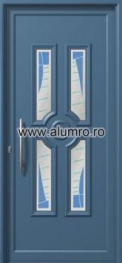Usa din aluminiu pentru exterior - E954 fused 1 ALUMINCO - Poza 227