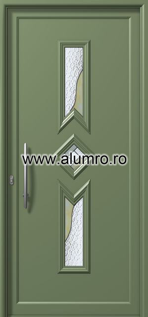 Usa din aluminiu pentru exterior - E960 vitro 1 ALUMINCO - Poza 232