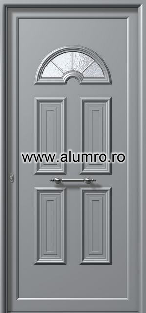Usa din aluminiu pentru exterior - E981 kaiti inox ALUMINCO - Poza 233