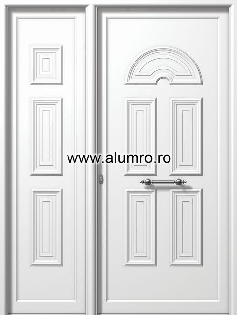 Usa din aluminiu pentru exterior - E986-E982 ALUMINCO - Poza 238