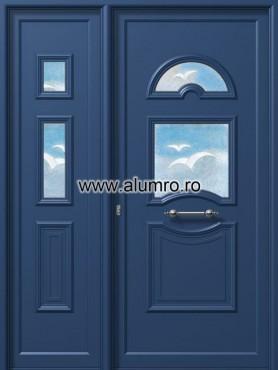 Usa din aluminiu pentru exterior - E988-E702 fused 4 ALUMINCO - Poza 240