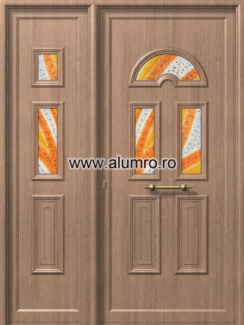 Usa din aluminiu pentru exterior - E988-E983 fused 2 ALUMINCO - Poza 243