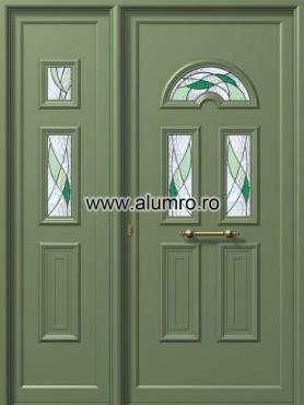 Usa din aluminiu pentru exterior - E988-E983 vitro 1 ALUMINCO - Poza 246