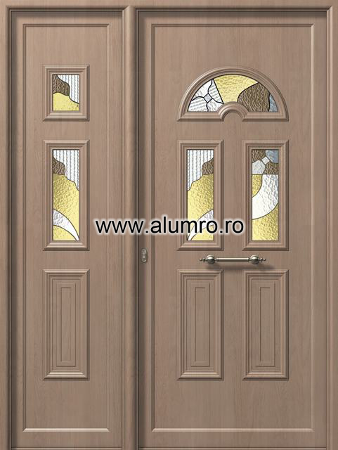 Usa din aluminiu pentru exterior - E988-E983 vitro 2 ALUMINCO - Poza 247