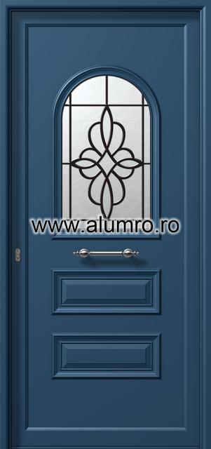 Usa din aluminiu pentru exterior - P6101 safe 1 ALUMINCO - Poza 1