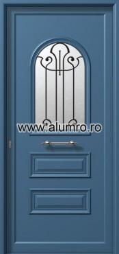 Usa din aluminiu pentru exterior - P6101 safe 4 ALUMINCO - Poza 2