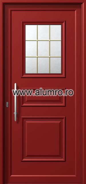 Usa din aluminiu pentru exterior - P6111 kaiti ALUMINCO - Poza 4