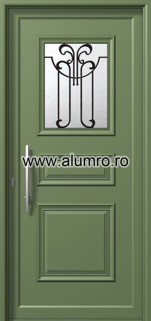 Usa din aluminiu pentru exterior - P6111 safe 5 ALUMINCO - Poza 5