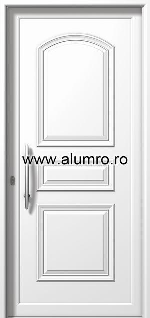 Usa din aluminiu pentru exterior - P6120 ALUMINCO - Poza 6