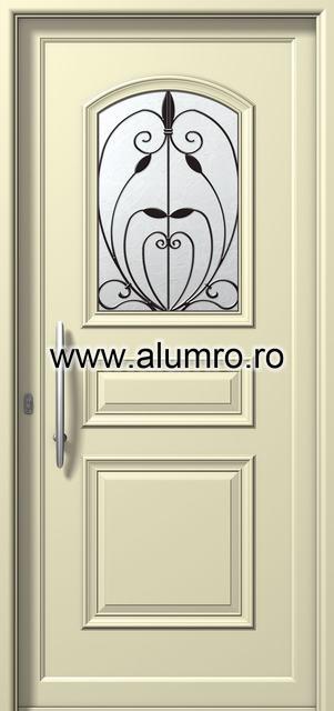 Usa din aluminiu pentru exterior - P6121 safe 2 ALUMINCO - Poza 8