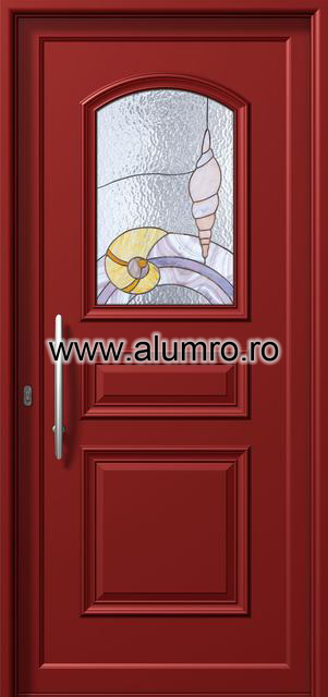 Usa din aluminiu pentru exterior - P6121 vitro 2 ALUMINCO - Poza 9