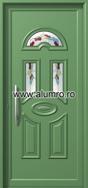 Usa din aluminiu pentru exterior - P6133 vitro 3 ALUMINCO - Poza 11
