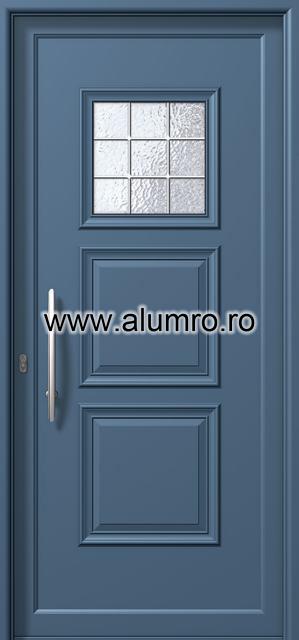 Usa din aluminiu pentru exterior - P6151 kaiti inox ALUMINCO - Poza 14