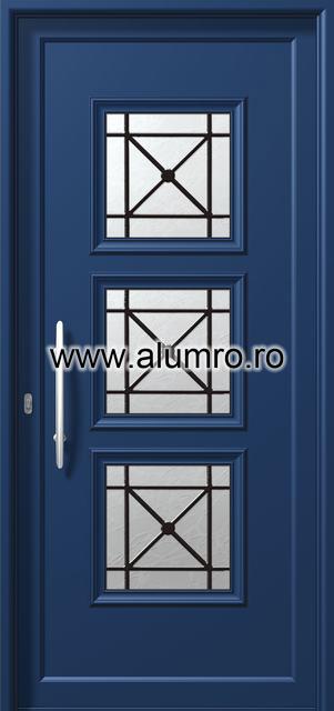 Usa din aluminiu pentru exterior - P6153 safe ALUMINCO - Poza 15