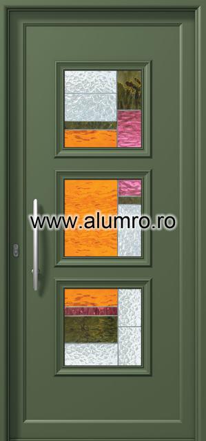 Usa din aluminiu pentru exterior - P6153 vitro 1 ALUMINCO - Poza 16