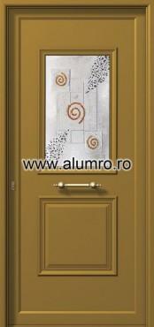 Usa din aluminiu pentru exterior - P6161 fused 2 ALUMINCO - Poza 18