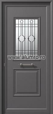 Usa din aluminiu pentru exterior - P6161 safe 3 ALUMINCO - Poza 20